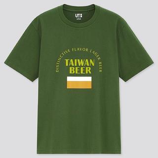 UNIQLO - 台湾ユニクロ記念Tシャツ(台湾ビール版XSサイズ)