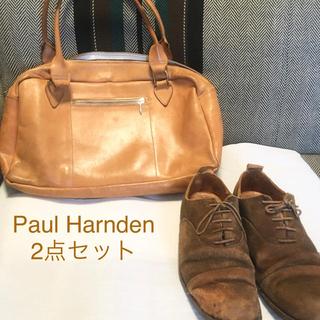 ポールハーデン(Paul Harnden)の《レアセット》Paul Harnden バッグ・靴 セット(ショルダーバッグ)