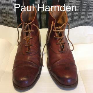 ポールハーデン(Paul Harnden)の《レア》Paul Harnden レザーブーツ(ブーツ)