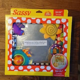 サッシー(Sassy)のSassy ベビー用ミラー【新品未開封】(その他)