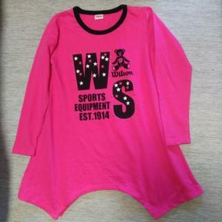ウィルソン(wilson)のWilsonウィルソンチュニック(Tシャツ/カットソー)