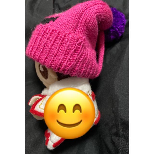 KALDI(カルディ)のKALDIモンスターオーナメントニット帽(黄色) エンタメ/ホビーのおもちゃ/ぬいぐるみ(キャラクターグッズ)の商品写真