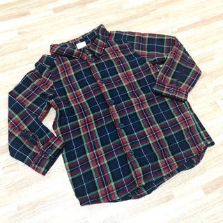 エイチアンドエム(H&M)のH&M チェックシャツ 90(ブラウス)