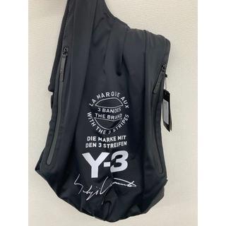 Y-3 - 【新品未使用】ヨージ YOHJI YAMAMOTO Y3 黒 リュック バッグパ