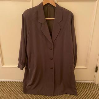 ロキエ(Lochie)の♡ココアブラウンビッグジャケットコート♡(ロングコート)