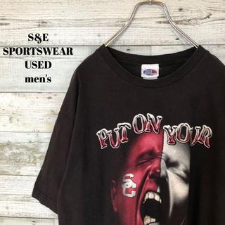 アメリヴィンテージ(Ameri VINTAGE)のUS輸入 South Carolina Gamecocks メンズ 半袖Tシャツ(Tシャツ/カットソー(半袖/袖なし))