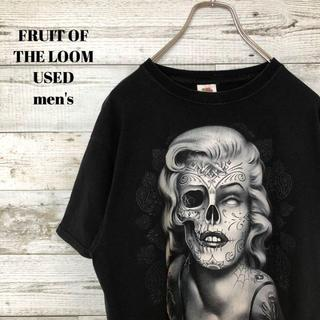 アメリヴィンテージ(Ameri VINTAGE)のUS輸入 FRUIT OF THE LOOM メンズ 半袖Tシャツ モンロー(Tシャツ/カットソー(半袖/袖なし))