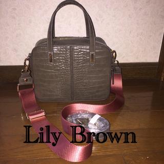 リリーブラウン(Lily Brown)の超美品 リリーブラウン ハンドバッグ ショルダーバッグ (ハンドバッグ)