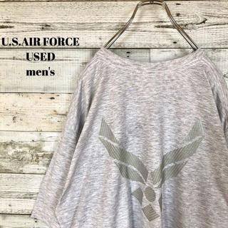 アメリヴィンテージ(Ameri VINTAGE)のUS輸入 U.S.AIR FORCE メンズ 半袖Tシャツ バックプリント(Tシャツ/カットソー(半袖/袖なし))