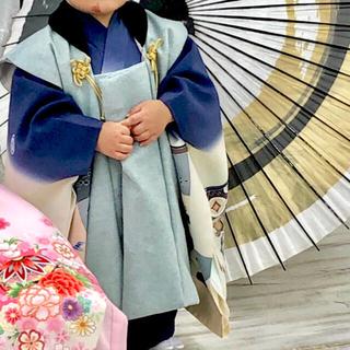 chawa様専用 七五三 3歳 男の子 被布 着物 セット 2歳 被布セット(和服/着物)