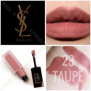 Yves Saint Laurent Beaute - 【新品箱有】23 シンギュラートープ タトワージュクチュール くすみローズ♡