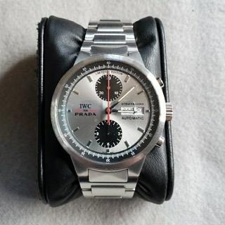 IWC - 【希少モデル】IWC×PRADA 世界限定2000本 メンズ クロノグラフ腕時計