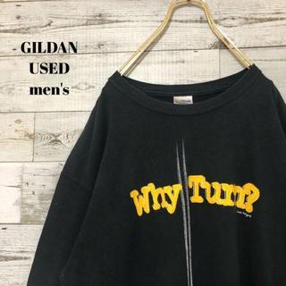 アメリヴィンテージ(Ameri VINTAGE)のUS輸入 GILDAN ギルダン メンズ 半袖Tシャツ ビッグサイズ  L(Tシャツ/カットソー(半袖/袖なし))