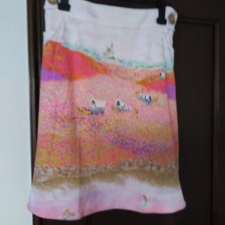 フランシュリッペ(franche lippee)のフランシュリッペのスカート(ひざ丈スカート)
