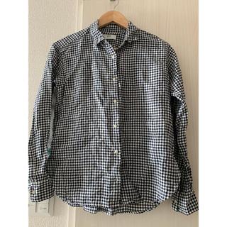 ユニクロ(UNIQLO)のギンガムチェックのシャツ(シャツ/ブラウス(長袖/七分))