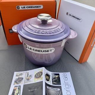 ルクルーゼ(LE CREUSET)の18cm、クールカラーle reusetエナメル、鋳鉄鍋、養生鍋 NO.2581(食器)