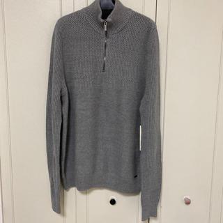カルバンクライン(Calvin Klein)のカルバンクラインジーンズ トップス セーター L グレー(ニット/セーター)