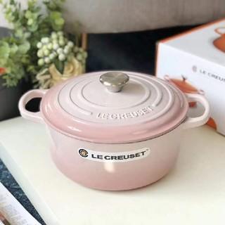ルクルーゼ(LE CREUSET)の*食器24cm 鋳鉄 Creuset エナメル鍋 NO.2181(鍋/フライパン)