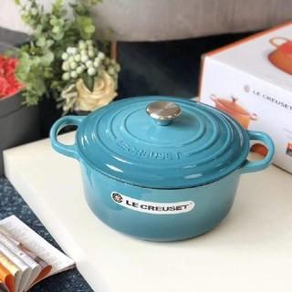 ルクルーゼ(LE CREUSET)の*食器24cm 鋳鉄 LE Creuset エナメル鍋 NO.2182(鍋/フライパン)