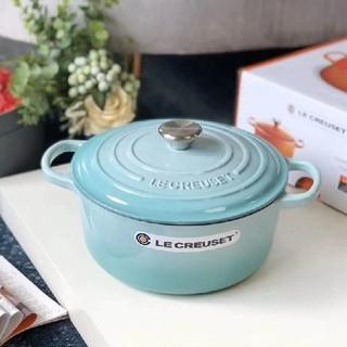 ルクルーゼ(LE CREUSET)の*食器24cm 鋳鉄  LE Creuset エナメル鍋 NO.2183(鍋/フライパン)