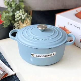 ルクルーゼ(LE CREUSET)の*食器24cm 鋳鉄  LE Creuset エナメル鍋 NO.2184(鍋/フライパン)