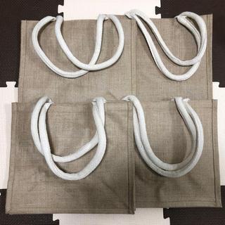 ムジルシリョウヒン(MUJI (無印良品))の【送料無料】【新品】無印良品 ジュート マイバック B5サイズ 4枚セット(トートバッグ)
