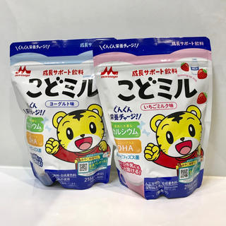 森永乳業 - こどミル ヨーグルト味 いちごミルク味 セット