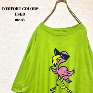 アメリヴィンテージ(Ameri VINTAGE)のUS輸入 COMFORT COLORS メンズ 半袖Tシャツ キャラクター XL(Tシャツ/カットソー(半袖/袖なし))