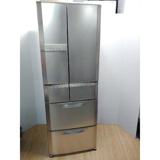 三菱 - 冷蔵庫 シルバー 三菱 エコタイプ ガンメタ系 人気デザイン 光ビッグ