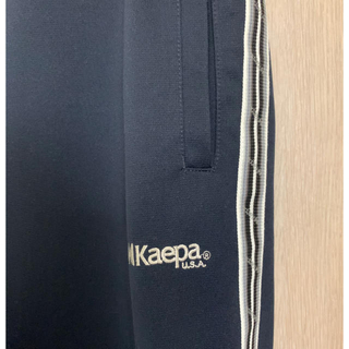 ケイパ(Kaepa)のKaepa U.S.A ネイビートラックパンツ(その他)