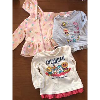 アンパンマン(アンパンマン)のアンパンマン 子供服 女の子 3点セット サイズ95(Tシャツ/カットソー)