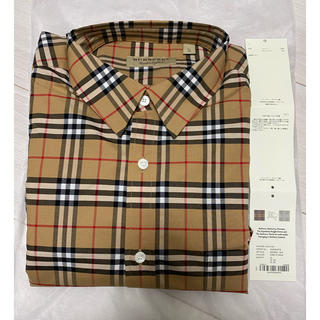 バーバリー(BURBERRY)のBurberry チェックワイシャツ 新品未使用 XL(シャツ)