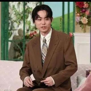 ジョンローレンスサリバン(JOHN LAWRENCE SULLIVAN)の菅田将暉 ベージュ ヴィンテージ セットアップ(セットアップ)