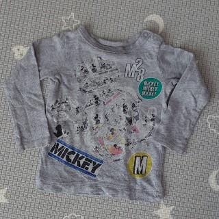 ブリーズ(BREEZE)の【BREEZE】ミッキーマウス ロングTシャツ(Tシャツ)