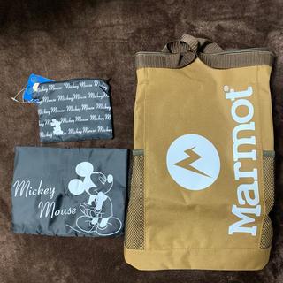 MARMOT - 新品 モノマックス 2020年 8月号 マーモット 保冷 リュック エコバッグ