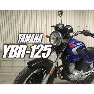 ヤマハ - YAMAHA  YBR 125cc  自賠責残1年半