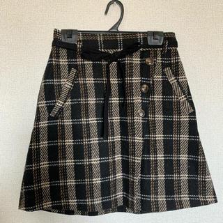 マジェスティックレゴン(MAJESTIC LEGON)のMAJESTICLEGON ラップリボンミニスカート(ひざ丈スカート)