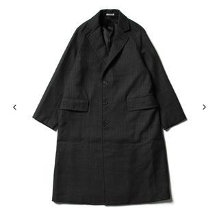 コモリ(COMOLI)のAURALEE bluefaced wool chesterfield coat(チェスターコート)