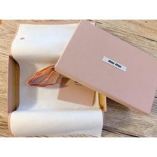 ミュウミュウ(miumiu)のmiumiu空箱(ショップ袋)