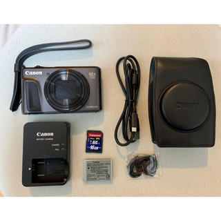 Canon - Canon PowerShot SX720 ブラック 純正品一式