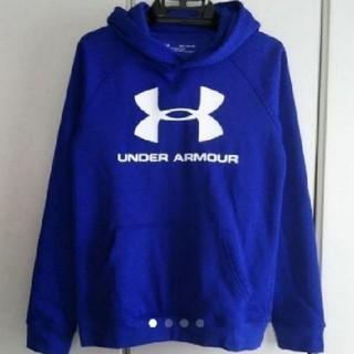 アンダーアーマー(UNDER ARMOUR)の新品値下げ!アンダーアーマー裏起毛パーカー160(Tシャツ/カットソー)