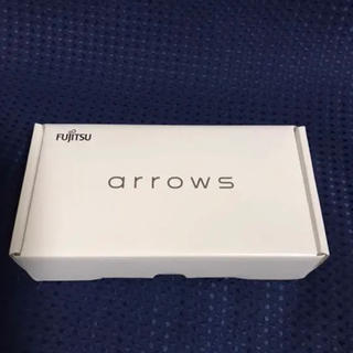 フジツウ(富士通)のarrows rx ホワイト 32gb 新品(スマートフォン本体)