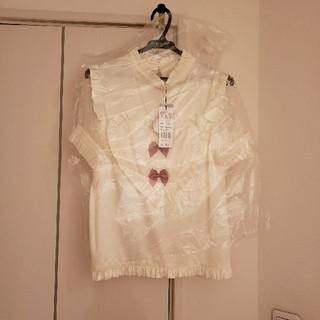 アンクルージュ(Ank Rouge)のハートりぼんトップス(シャツ/ブラウス(半袖/袖なし))