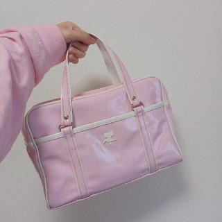 クレージュ(Courreges)のcourreges pink enamel bag(ハンドバッグ)