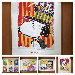SNOOPY - TOM EVERHART SNOOPY ポスター 5枚セット