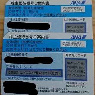 エーエヌエー(ゼンニッポンクウユ)(ANA(全日本空輸))のANA株主優待券 2020/11/30まで(航空券)