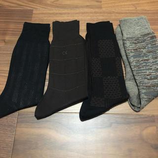 バーバリー(BURBERRY)の紳士 靴下 4足セット(ソックス)