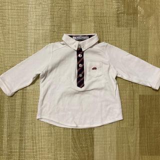familiar - ファミリア ポロシャツ 80 familiar 長袖シャツ 男の子 フォーマル