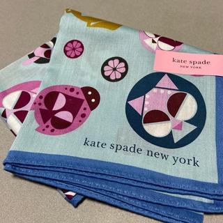 ケイトスペードニューヨーク(kate spade new york)のケイトスペードハンカチ新品未使用シール付き(ハンカチ)