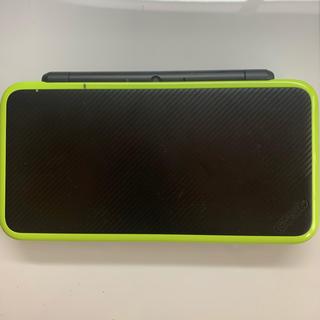 ニンテンドー2DS(ニンテンドー2DS)のNewニンテンドー2DS LL ブラック×ライム(携帯用ゲーム機本体)